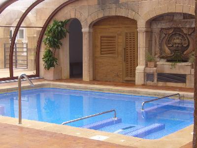 Massasjebasseng og sauna